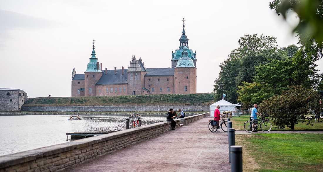 En fin bild på Kalmar, där Malin Wollin bor.