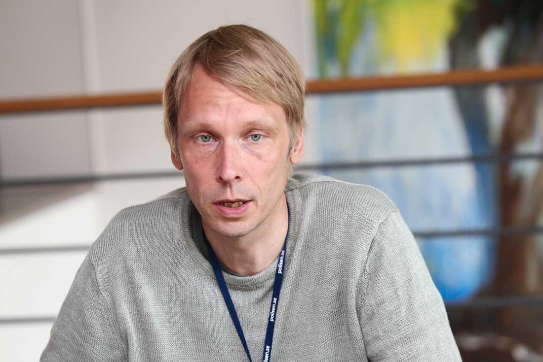 """""""Du får ett fullgott vapen, men precisionen blir lite sämre"""", säger Mikael Högfors, Nationellt forensiskt centrum, om de ombyggda gasvapnen. Arkivbild."""