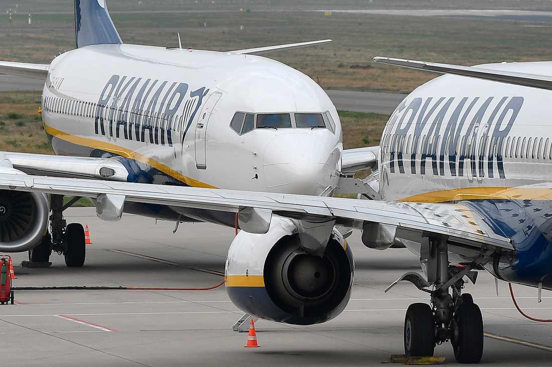 Ryanair och Finnair har flest nya ärenden på Svarta listan.