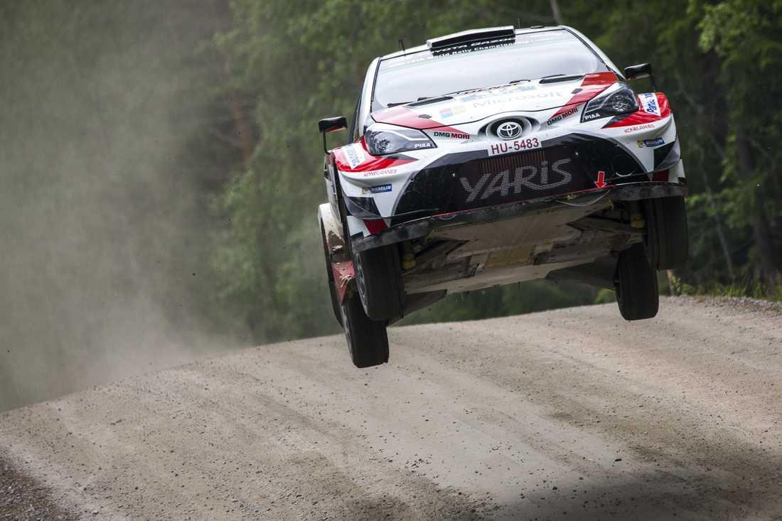 Esapekka Lappi vann det finländska VM-rallyt. Arkivbild.
