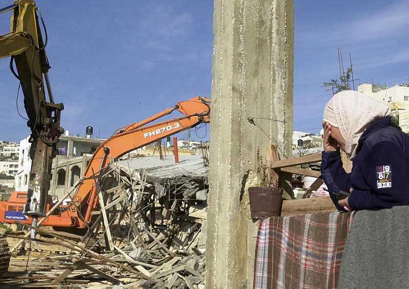 Israel, hårt kritiserat efter sitt agerande mot Ship to Gaza, beslutade att öppna gränsen för varor in till det palestinska folket. Nu har myndigheterna bestämt sig för att riva 22 palestinska hem i östra Jerusalem. (Arkivbild)