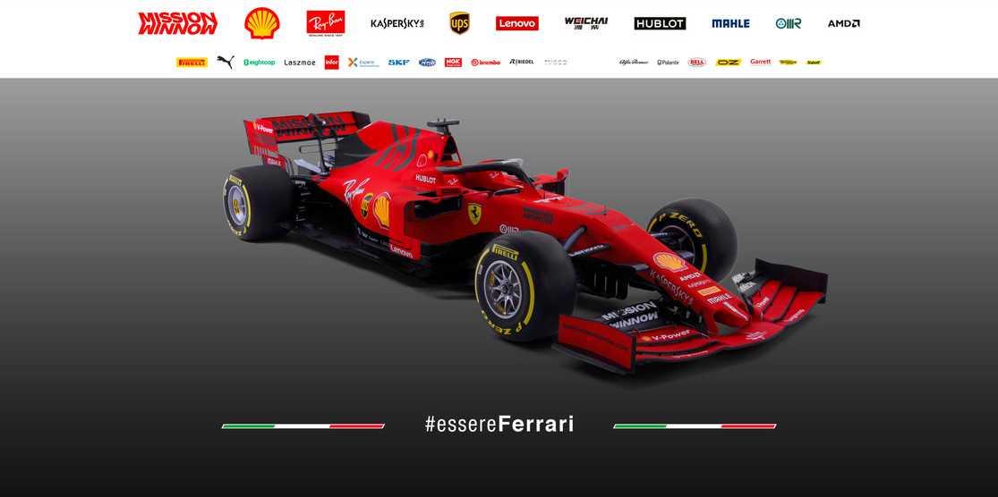 Här är bilen som ska göra Ferrari till världsmästare i F1 2019.