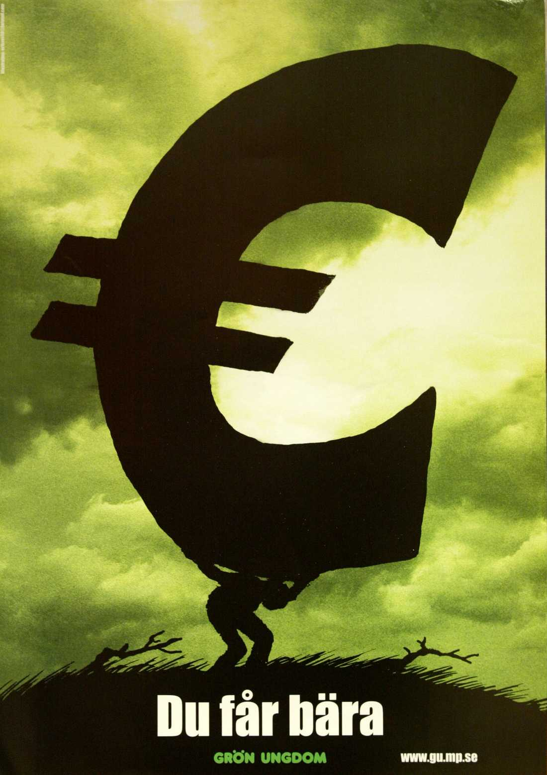 2003 Miljöpartiets ungdomsförbund inför EMU–valet