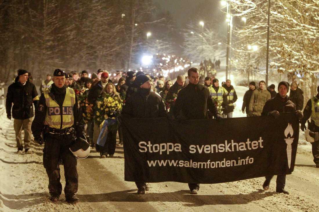 Nazister i Salem förra året
