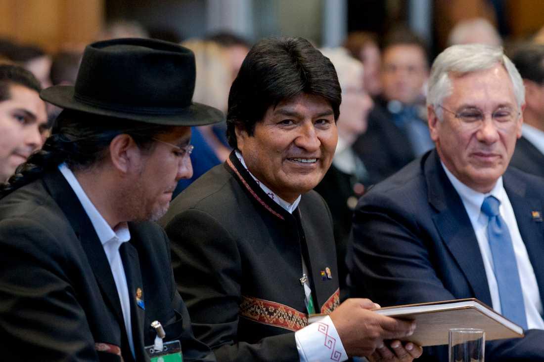 Bolivias president Evo Morales. Arkivbild.