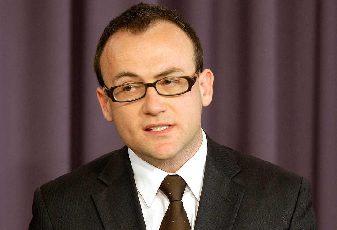 Adam Bandt, partiledare för de gröna.