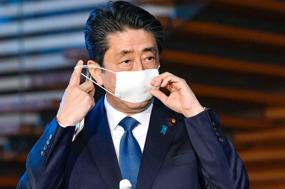 Japans premiärminister Shinzo Abe.