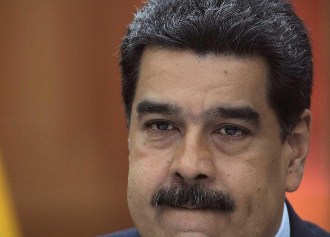 Venezuelas president Nicolás Maduro utmanas av oppositionen. Arkivbild.
