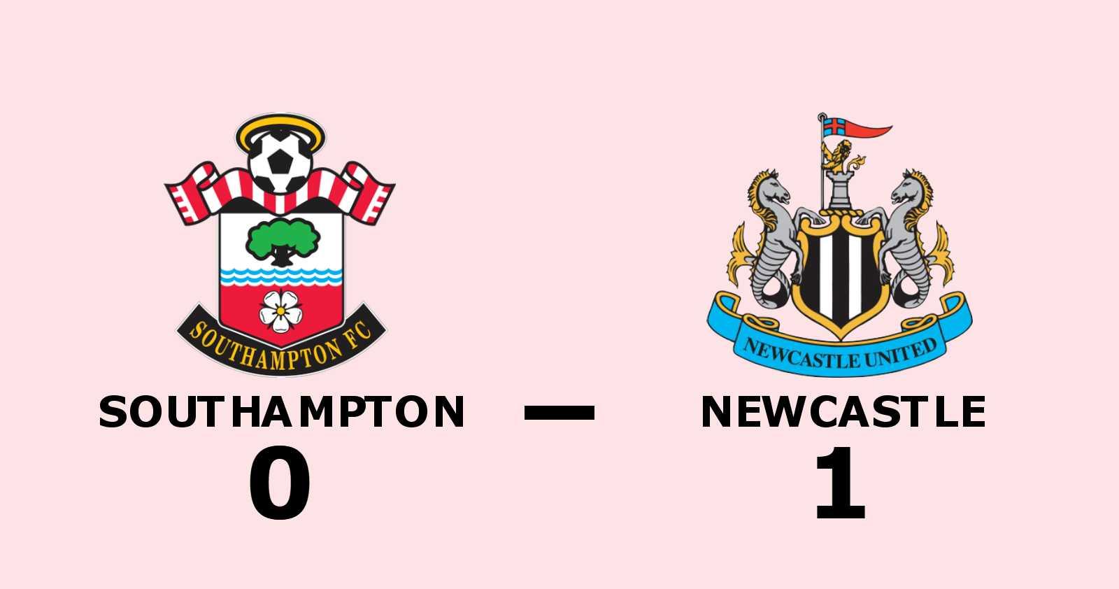 1-0-seger för Newcastle mot Southampton - Allan Saint-Maximin matchhjälte