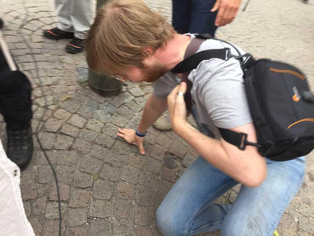 Nazist från NMR knuffade omkull Eskil, 22, i Visby | Aftonbladet