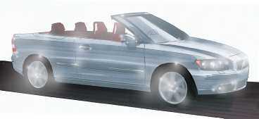 Konkurrenter till C40: BMW 3-serie cab, Saab 9-3 cab, Audi A4 cab.