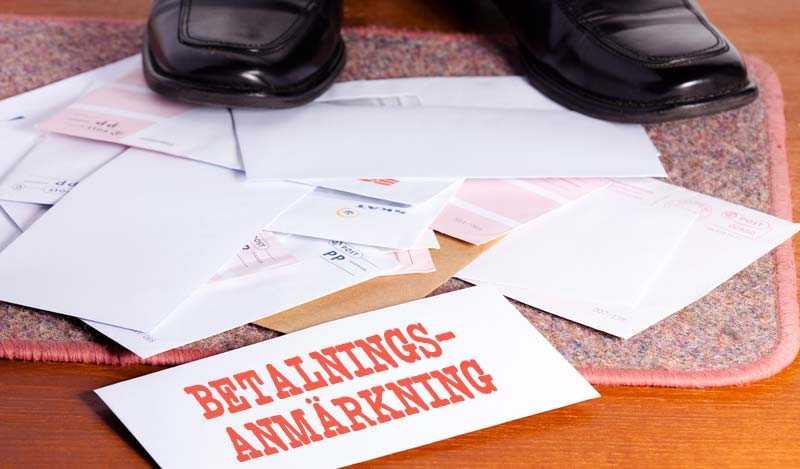 svårt att få lån - betalningsanmärkning