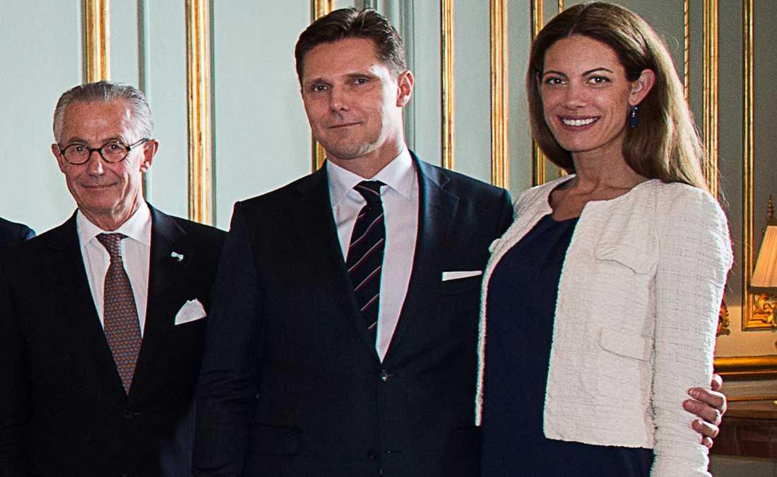Tord Magnuson, Patrick Sommerlath och Maline Sommerlath.