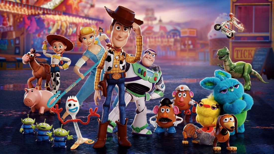 """Toy story 4""."