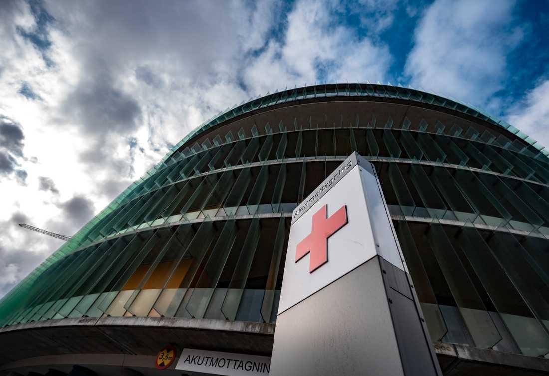 På SUS (Skånes universitetssjukhus) finns beredskap för att bygga ut vårdplatserna, skriver Sydsvenskan. Arkivbild.