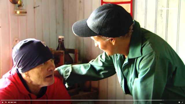 Skärmdump på Frank Andersson I Farmen VIP.