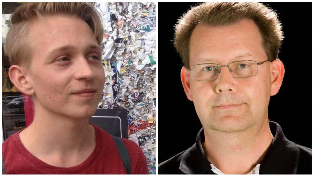 Patrik Linfeldt, i dag 23 år, har varit försvunnen i ett år.