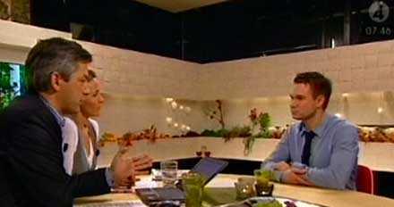Reportern Anders Pihlblad talade ut om kvällen med Ulrika Schenström.
