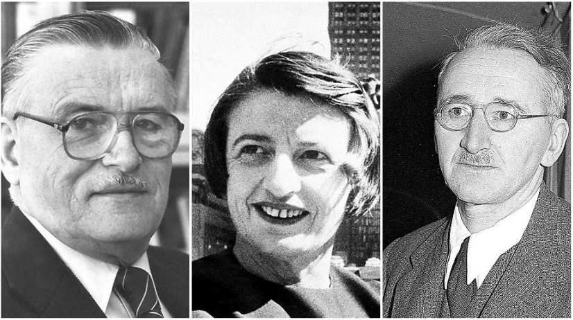 James Buchanan, Ayn Rand och Friedrich Hayek blir alla fellästa menar Mattias Svensson.