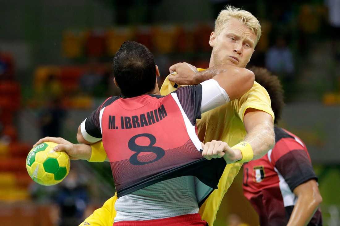 Philip Stenmalm under OS i Rio 2016.