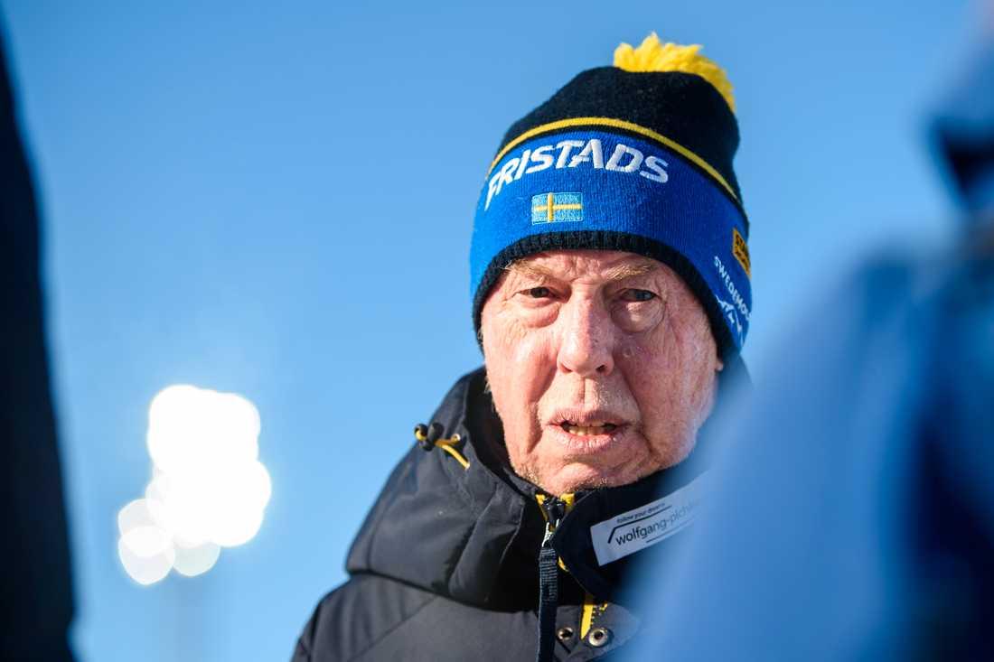 Förre förbundskaptenen Wolfgang Pichler.