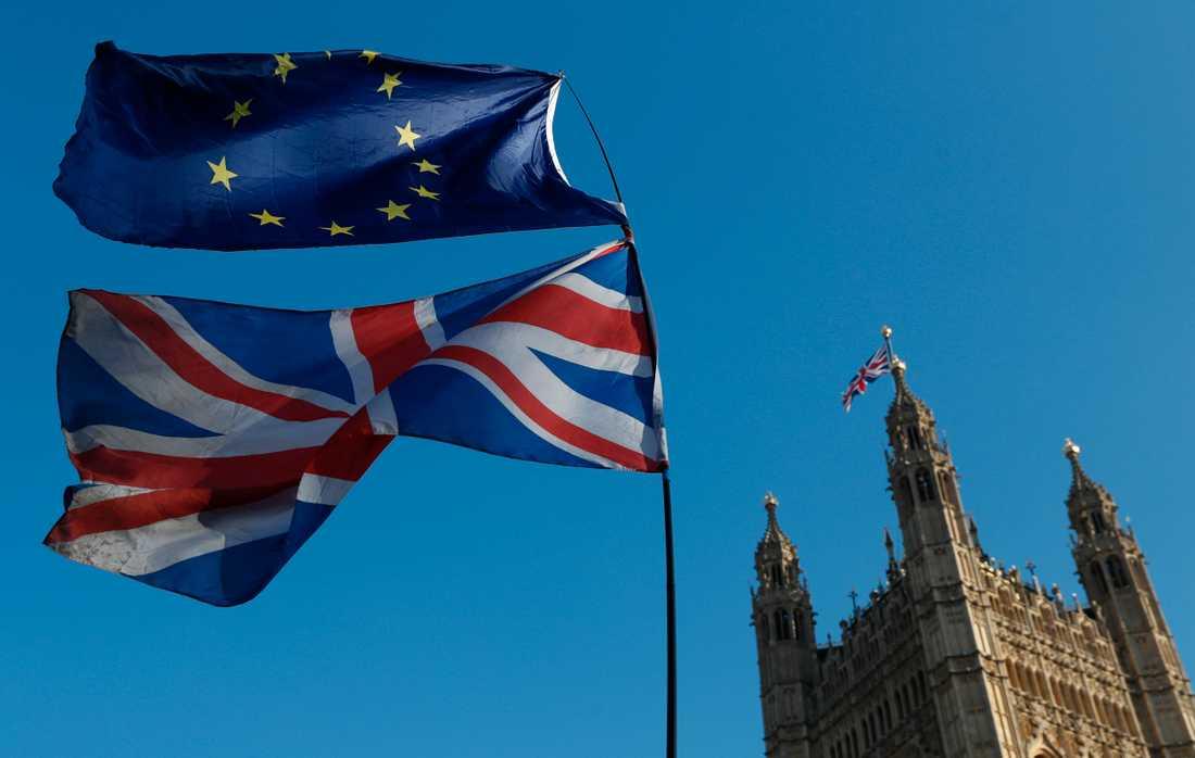 Visumfrihet väntas gälla mellan EU och Storbritannien även efter en brexit. Arkivbild.