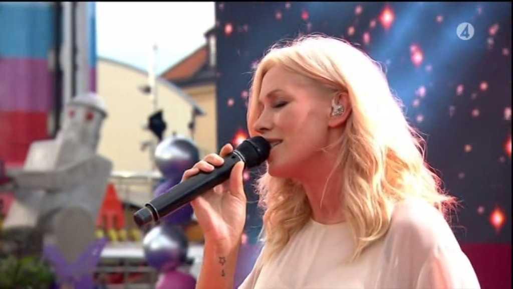 Jessica Andersson i Sommarkrysset