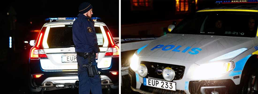Polisavspärrningar efter grovt våldsbrott på Onsala.