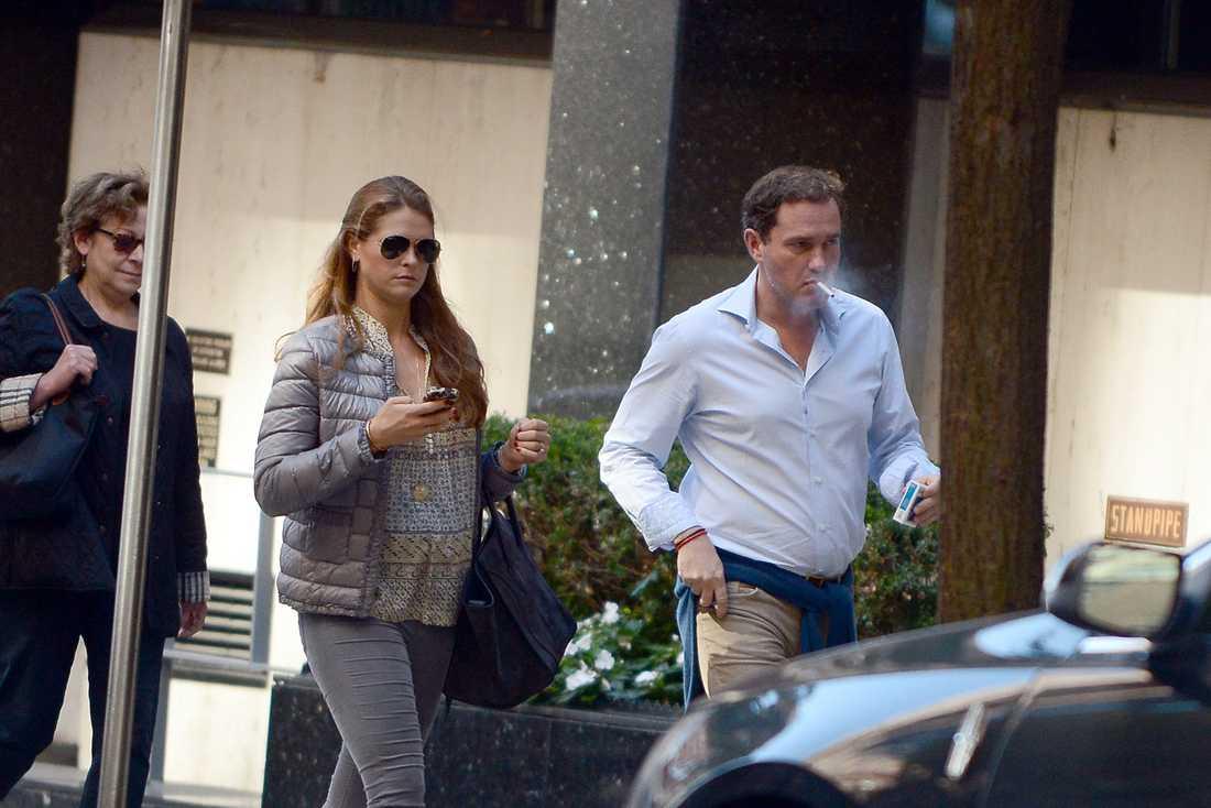 Går på stan Madeleine och Chris hade en dag på stan i slutet på september.