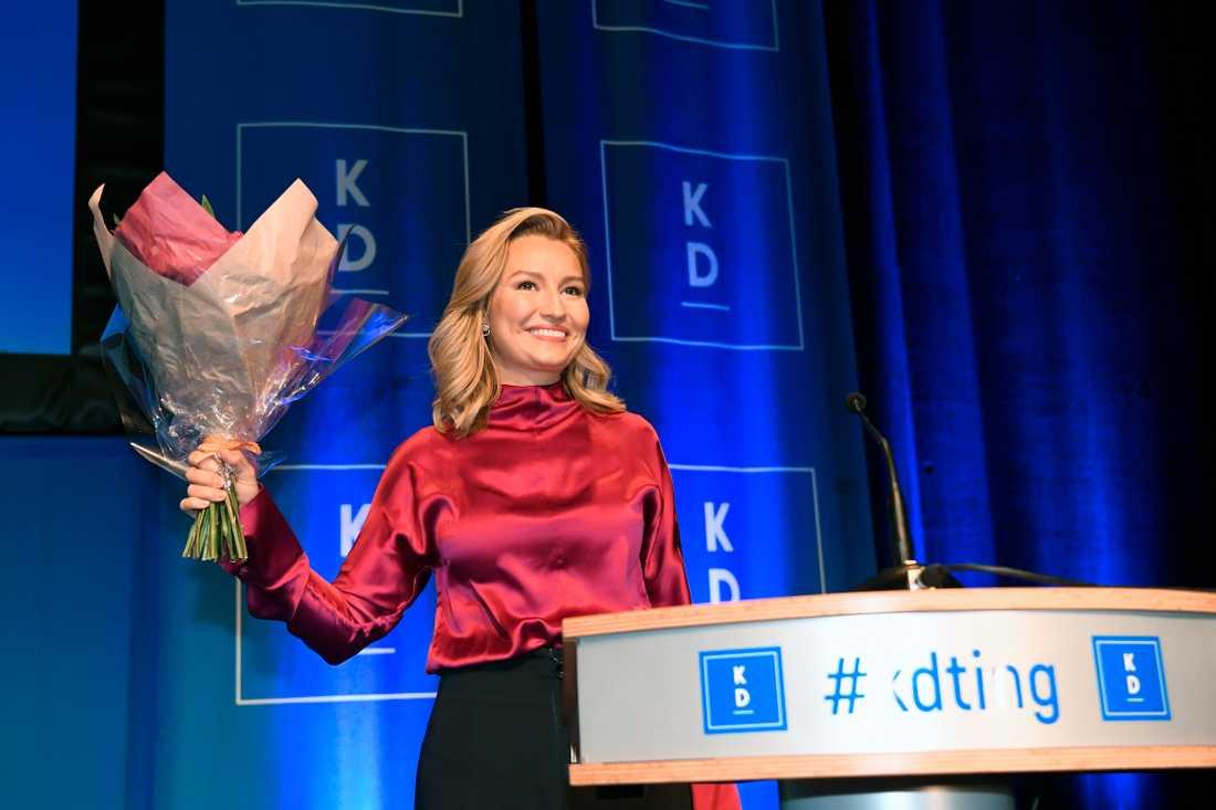 I dag valdes Ebba Busch Thor om som Kristdemokraternas partiledare.