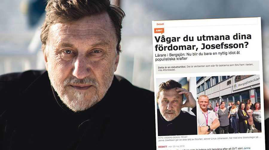 """Vi gör inte anspråk på att ha gett """"hela bilden"""" av Bergsjön, av det enkla skälet att det inte är möjligt, skriver Janne Josefsson, Martin Sundborn och Lena Laurén."""