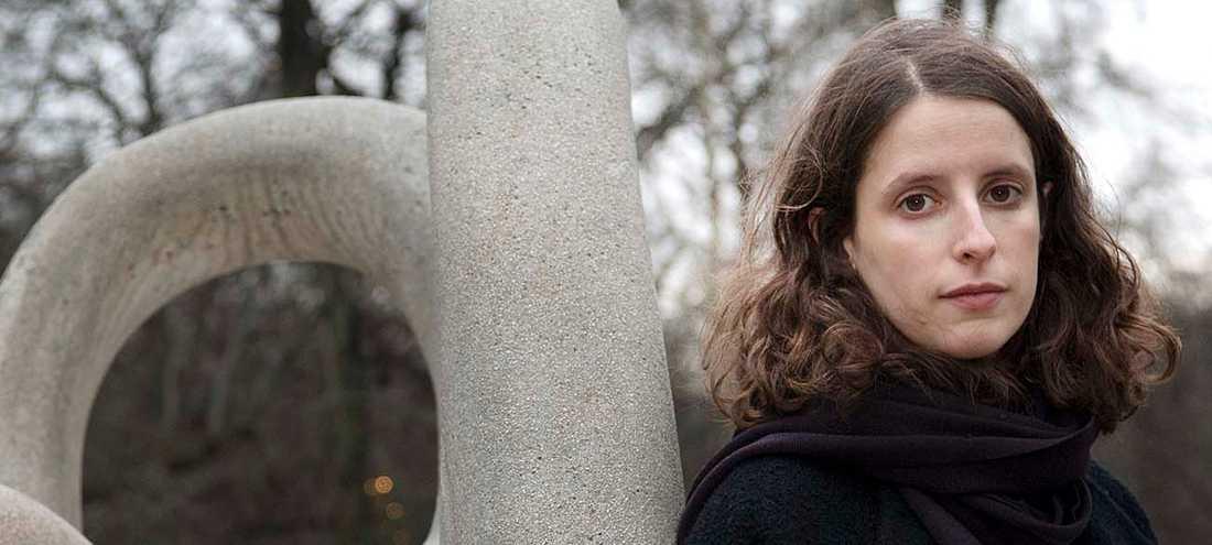 """Natalie Verständig Axelius, aktuell med """"Det var jag som skulle dö""""."""