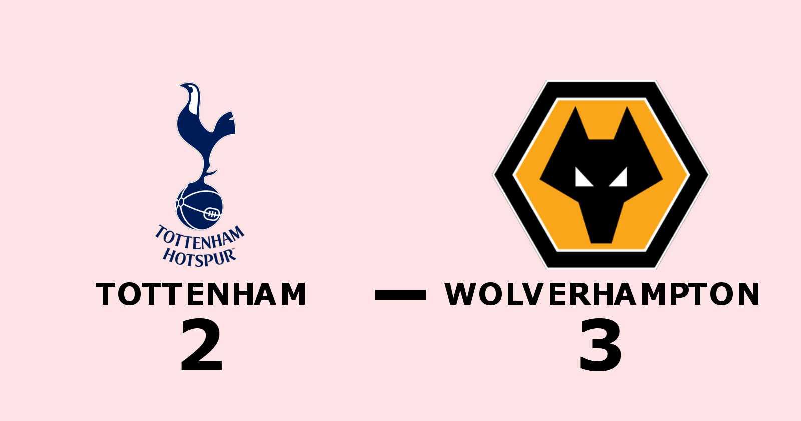 Wolverhampton vände halvtidsunderläge till seger