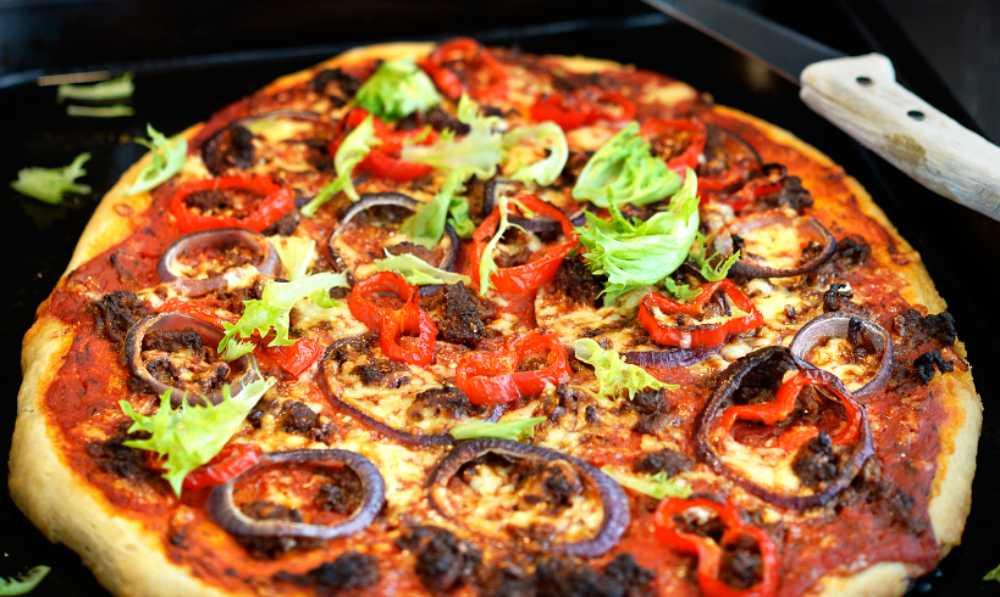 Tacopizza – populär fredagsmat.