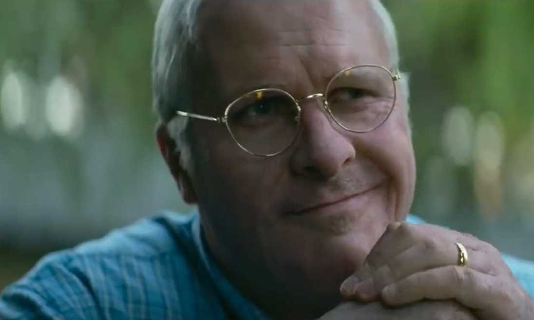 Christian Bale som Dick Cheney.
