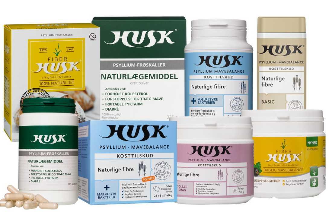 Orka drar tillbaka alla produkter av naturläkemedlet Husk efter ett salmonellautbrott i Danmark. Pressbild.