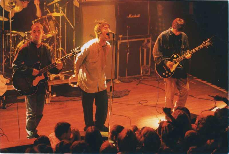 Oasis i Stockholm 1994.