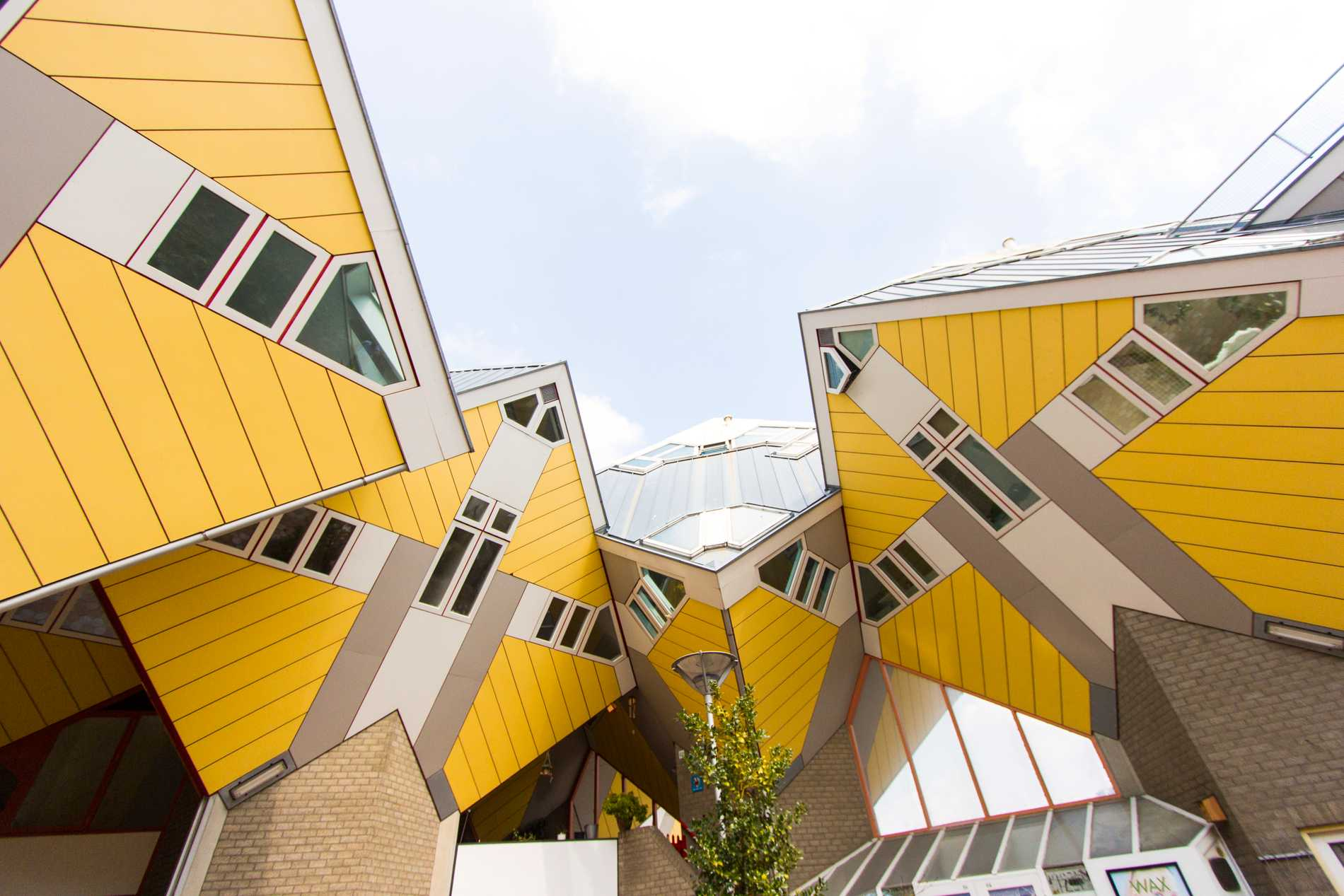 Lekfull kubism i Nederländerna.