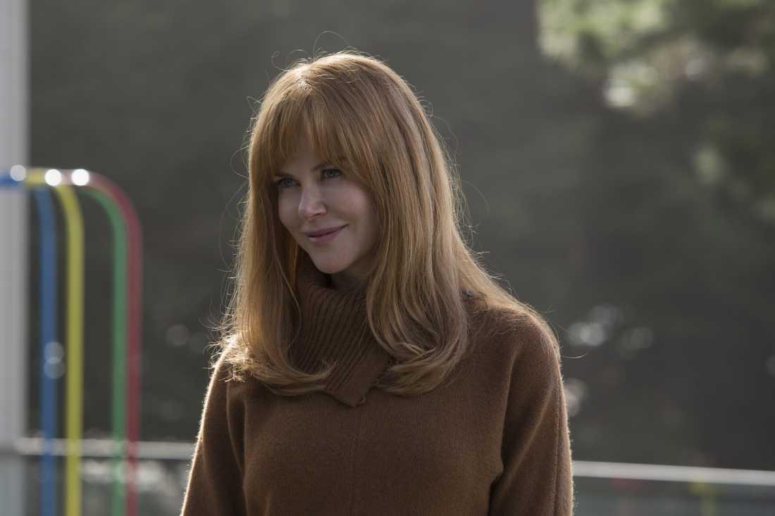 """Nicole Kidman belönades med en Golden Globe för sin insatts i """"Big little lies"""". Den andra säsongen får premiär i juni. Arkivbild."""