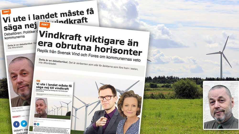 Med sjunkande popularitetssiffror och allt mer utbyggd vindkraft i natursköna områden, är utsikterna goda att vi snart når den punkt där färre än hälften är positiva till vindkraften, skriver Jan Hedman.