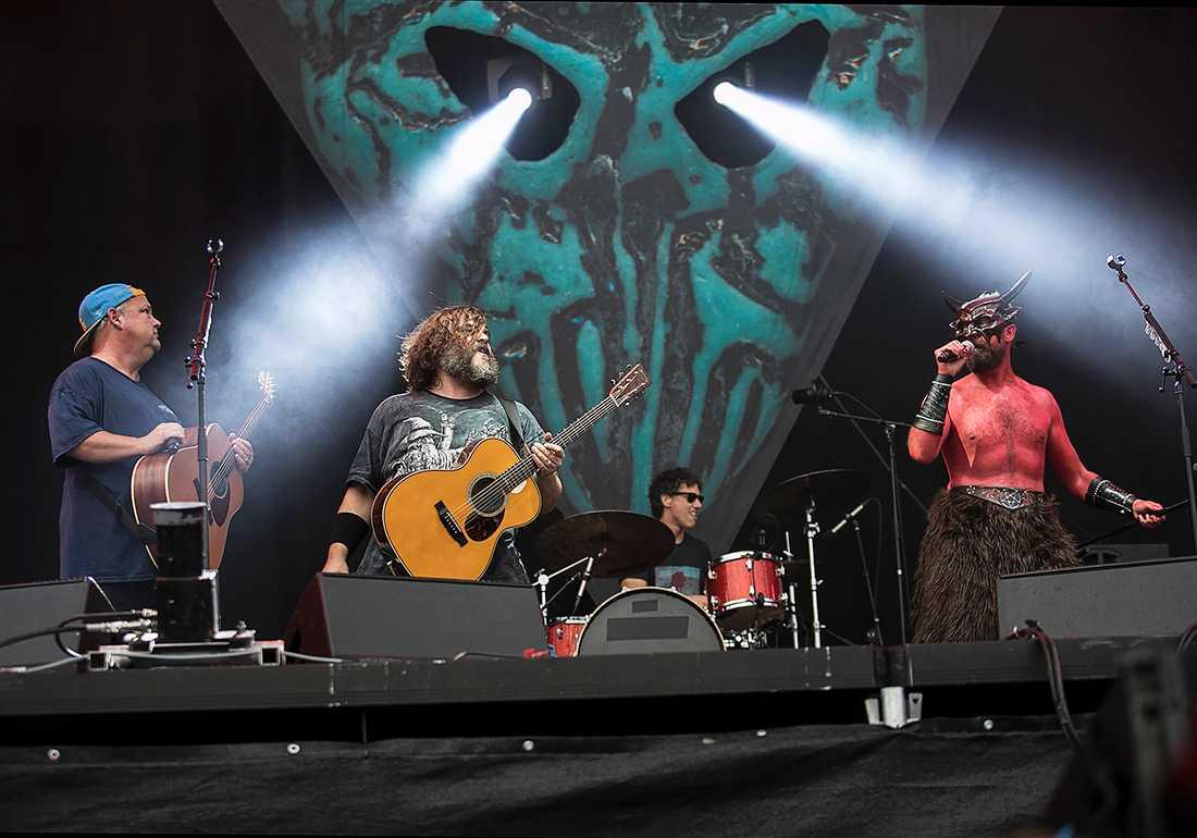 Amerikanska bandet Tenacious D.