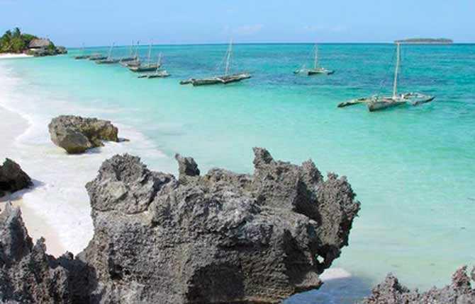 Matemwe Beach.