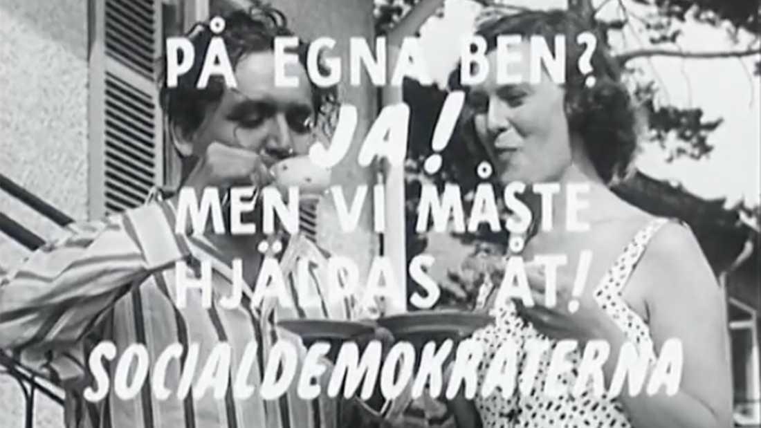 I slutet av filmen inser Andersson att allt bara varit en dröm – något han är glad över.