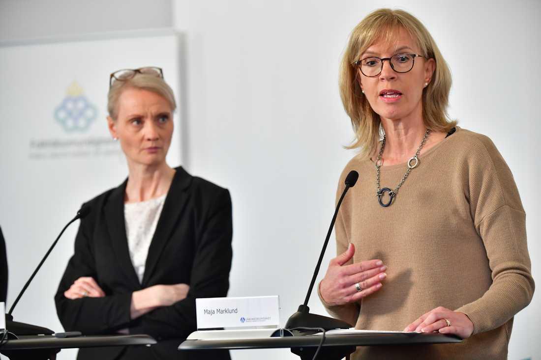 Maja Marklund vid Läkemedelsverket menar att både Stockholm och Östergötland varnat för låga nivåer av narkosläkemedlet propofol.
