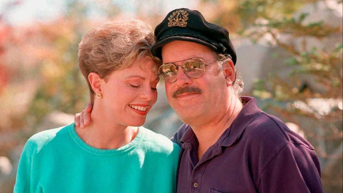 "Toni Tennille och Daryl ""The Captain"" Dragon."