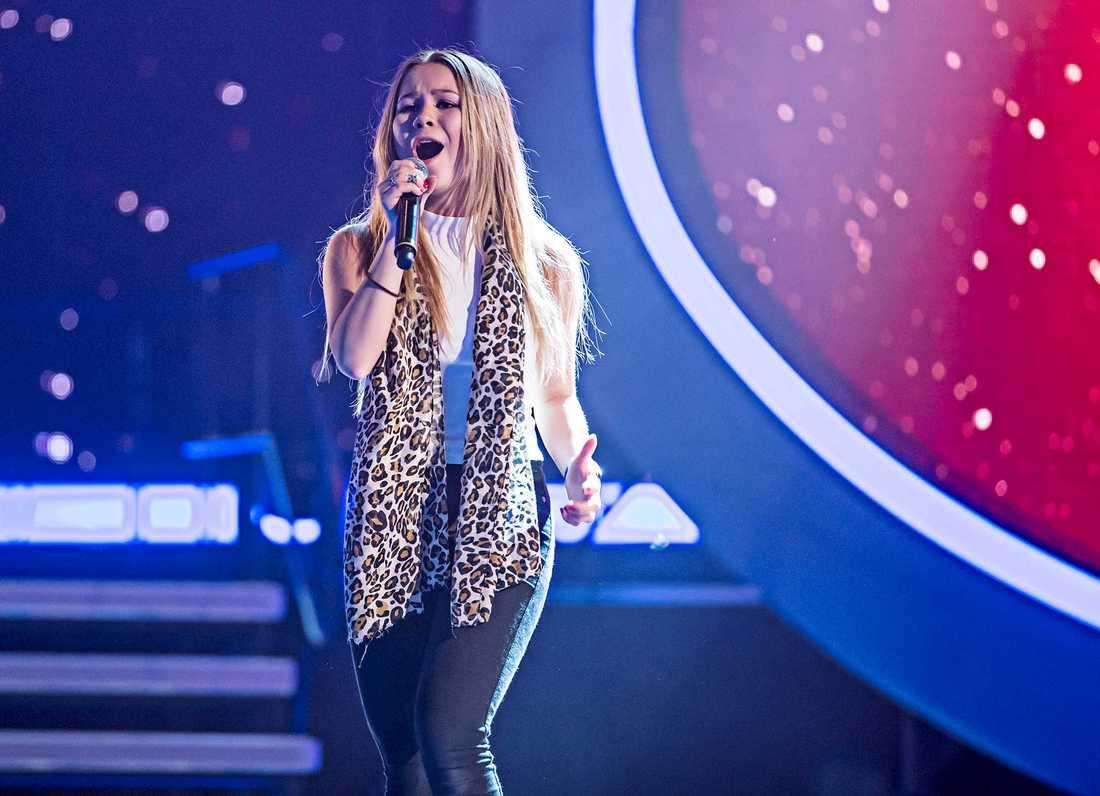 """Lisa Ajax i """"Idol""""2014."""