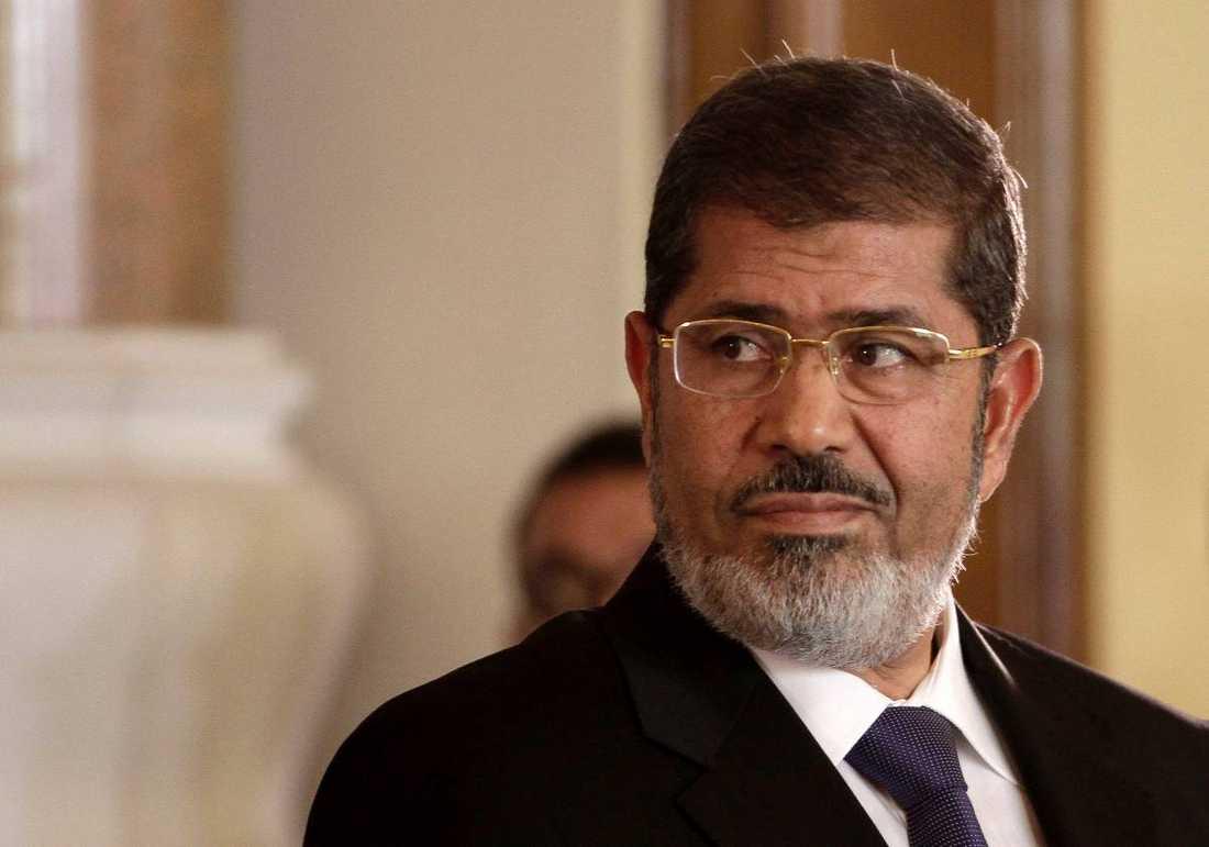 Den avsatte Muhammad Mursi.
