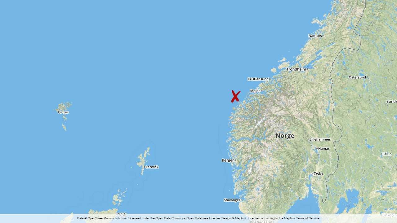 Nödlarm från ryskt fartyg i Norge – 33 ombord