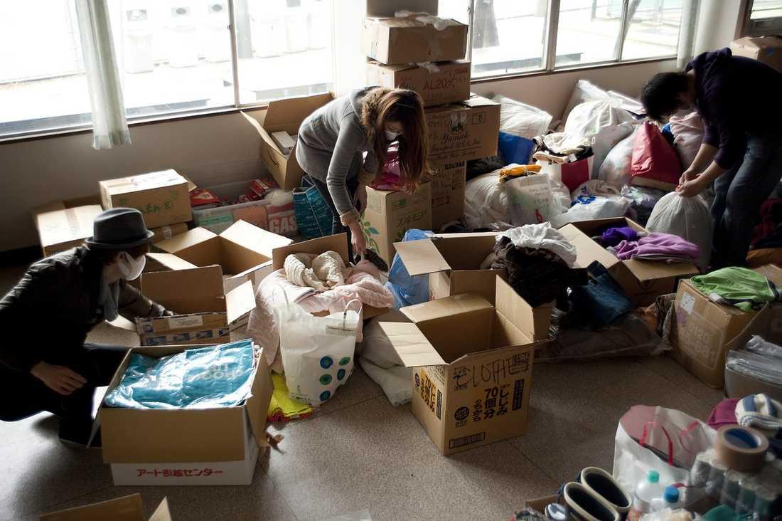 3 500 volontärer kommer att arbeta för Crash längs Honshus nordostkust så länge de behövs.