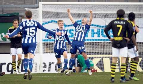 Thomas Olsson var den stora segerorganisatören mot AIK.